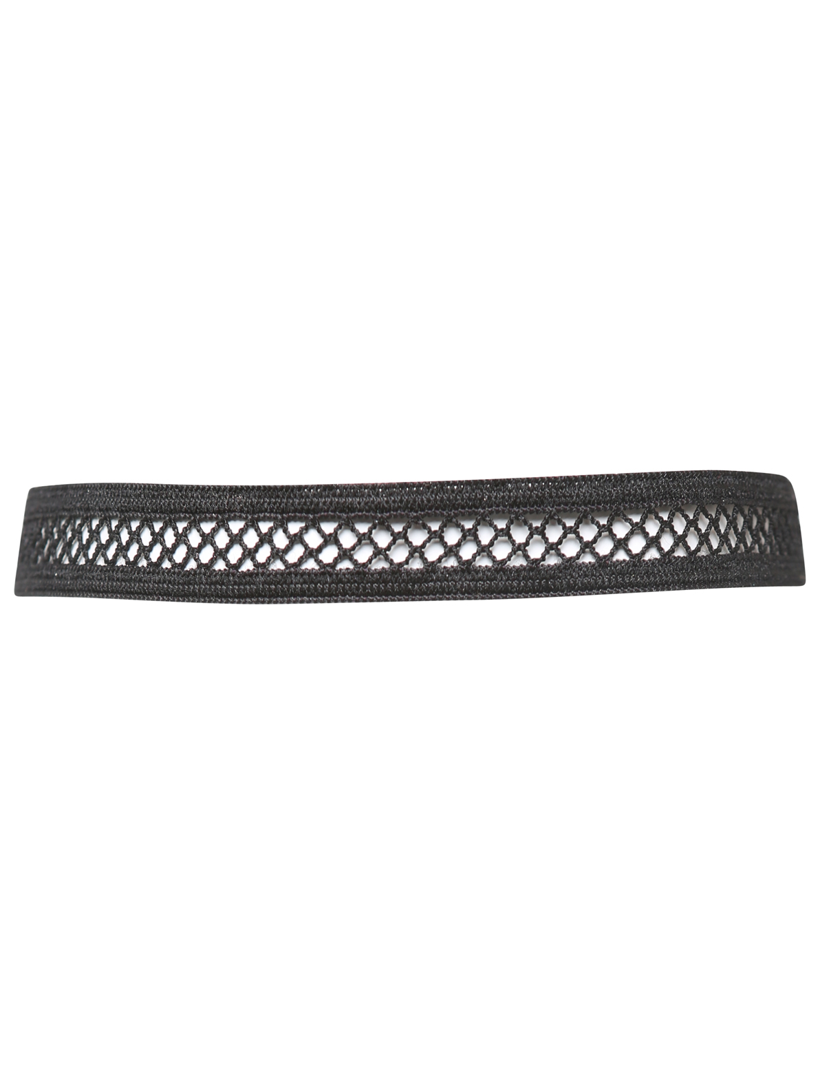 Image of Attitude Fishnet Choker In Black