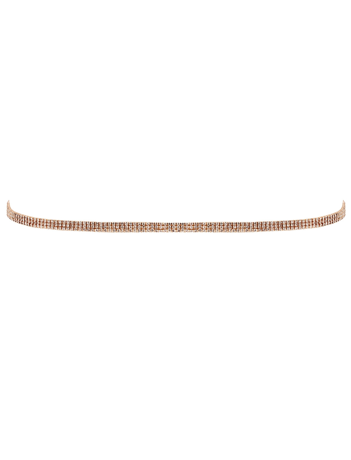 Image of All That Thin Diamante Belt In Gold