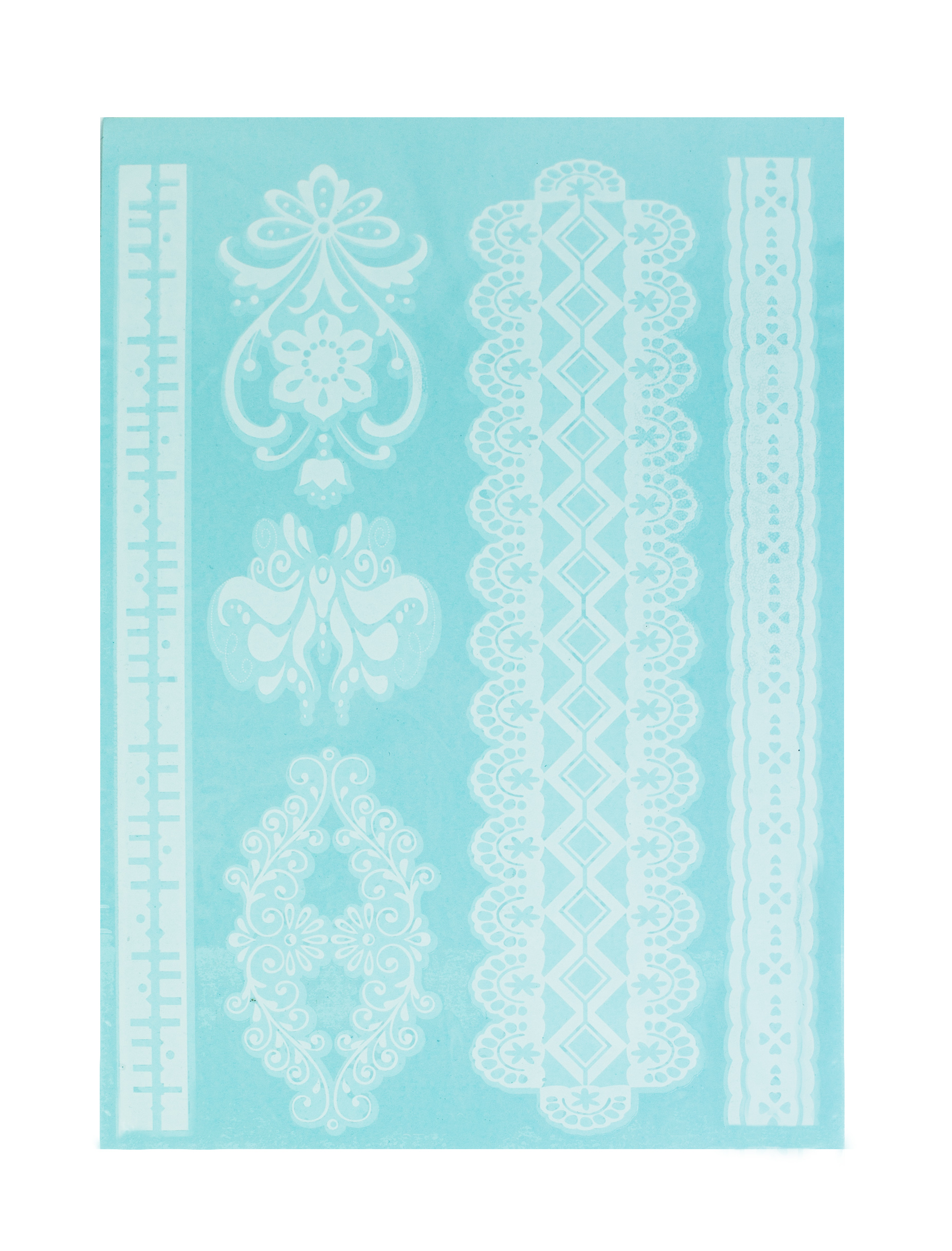 FLOWERBOMB WHITE HENNA FLASH TATTOOS